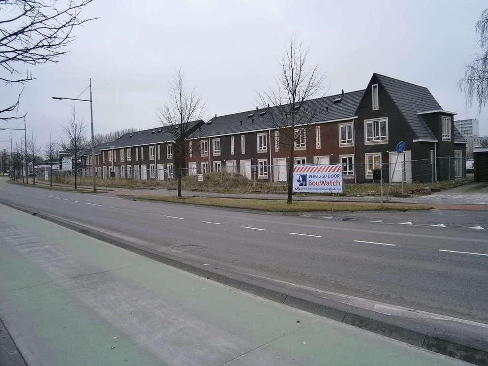 Metselwerk nieuwbouwwoningen Leeuwarden 3